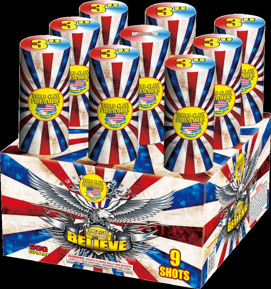 Gorilla Fireworks - Professional Quality Multi-Shot Aerials